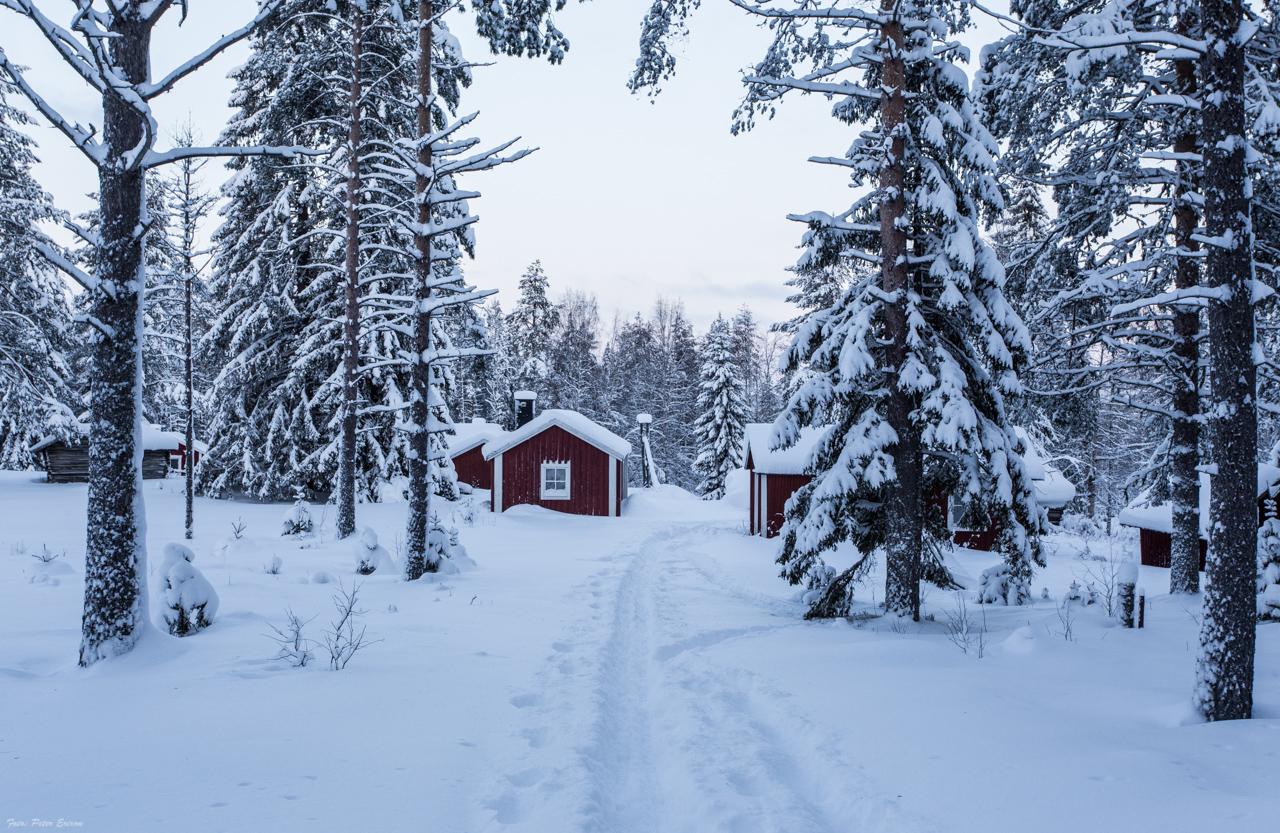 Fäbod vinter 2
