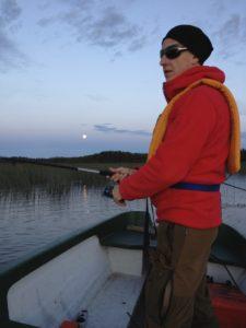 Fiske kväll Janne
