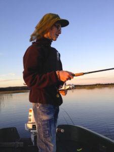 Fiske kväll William