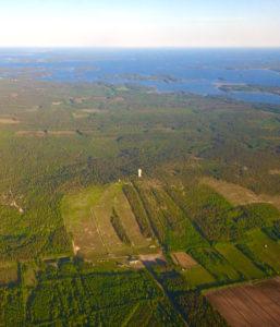 Flygfoto Måttsundsbacken