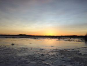 Naturis solnedgång