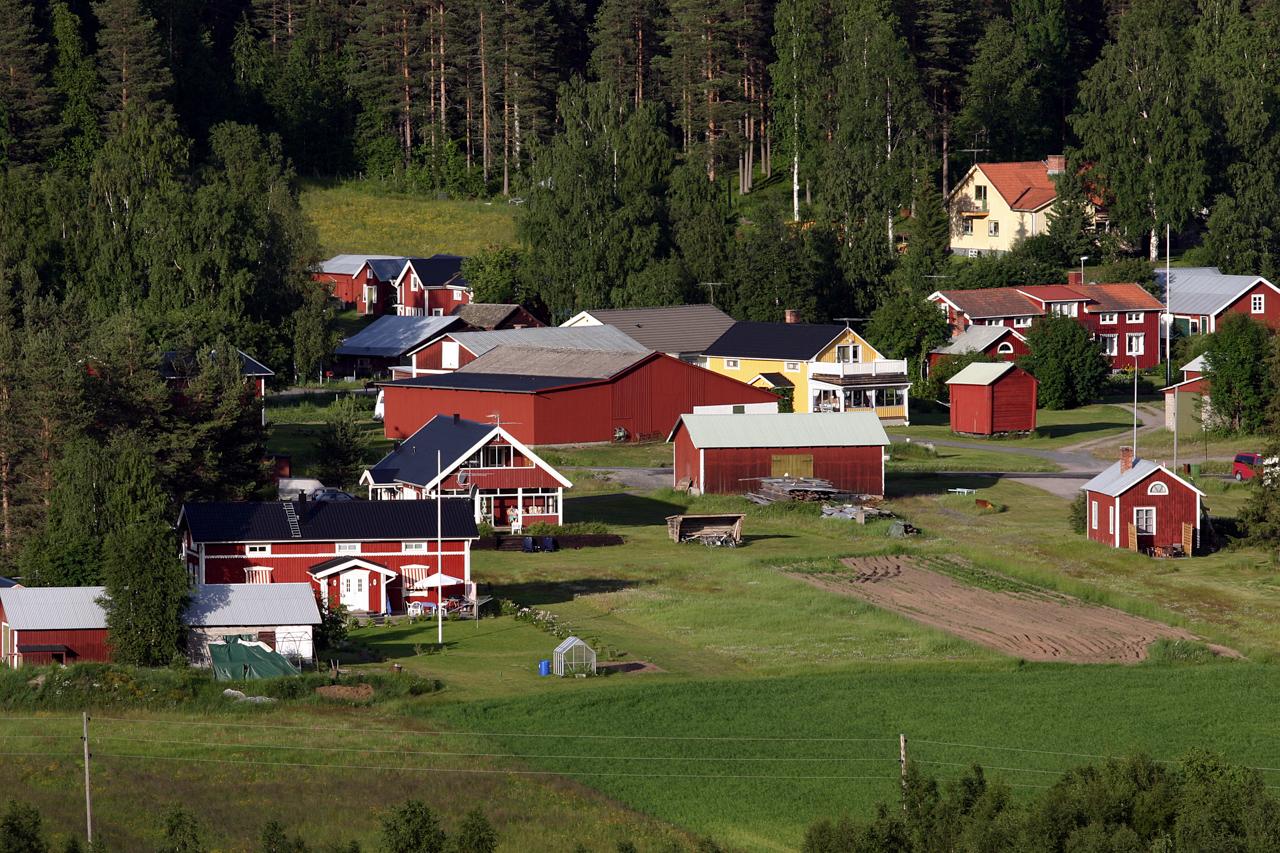 Utsikt över byn