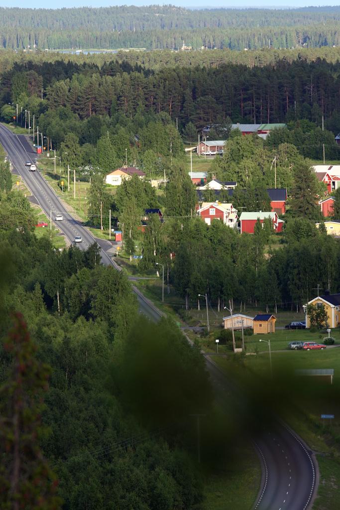 Utsikt Kallaxvägen